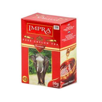 Чай Impra OPA Premium Pure Ceylon Black Tea Red (ОПА премиум), цейлонский, 50 г