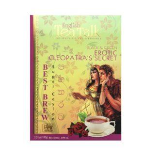 Чай English TeaTalk Erotic Cleopatra's Secret Best Brew Секрет Клеопатры, цейлонский, 100 г