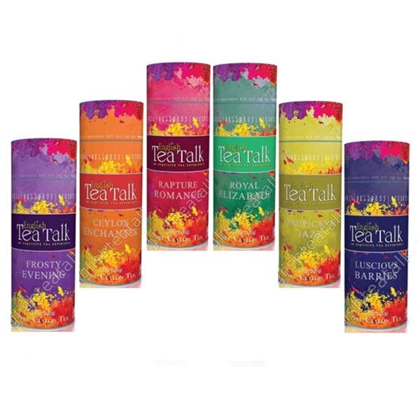 Чай English Tea Talk Gourmet Collection Коллекция Гурманов, цейлонский, 6 х 100 г, 600 г