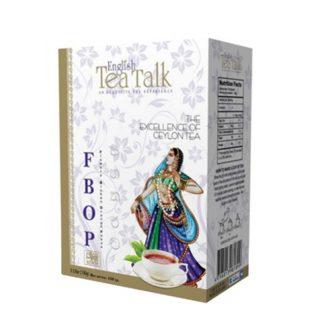 Чай English TeaTalk FBOP Premium ФБОП, цейлонский, 100 г