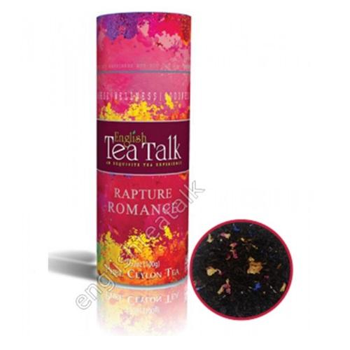 Чай English TeaTalk Rapture Romance Восхищение, цейлонский, 100 г