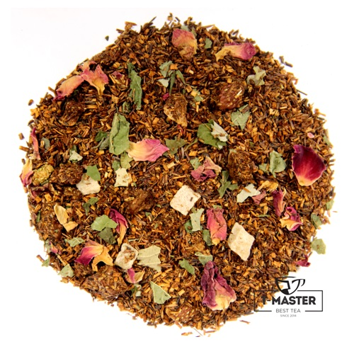 Чай T-MASTER Rooibos Ройбуш клубника, Германия, 100 г