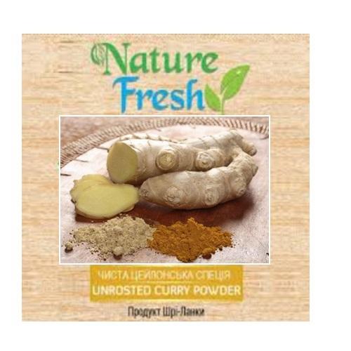 Имбирь молотый Nature Fresh, органический продукт, Цейлон, 100 г