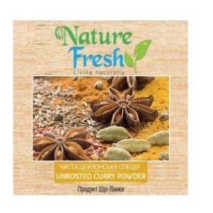 """Карри Nature Fresh """"смесь специй-масала"""", Цейлон, органический продукт, 50 г"""