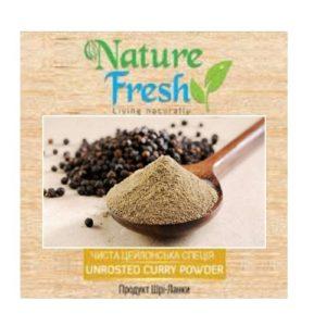 Перец черный молотый Nature Fresh, органический, Цейлон, 50 г