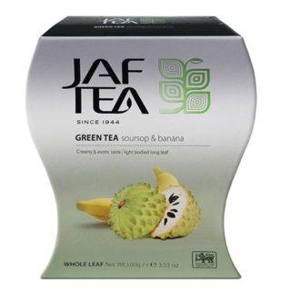 Чай JAF Soursop Banana Green Tea Саусеп Банан, цейлонский, 100 г