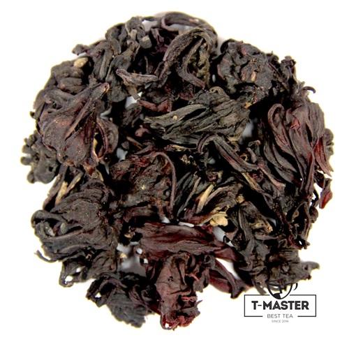 Травяной чайный напиток T-MASTER Каркаде Гибискус, китайский, 100 г