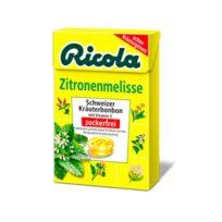 Леденцы Ricola Zitronnenmelisse Мелиса, швейцарские, 50 г