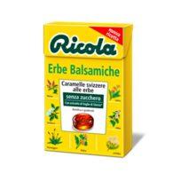 Леденцы Ricola Erbe Balsamiche, 7 трав, не содержат глютен и лактозу, швейцарские, 50 г