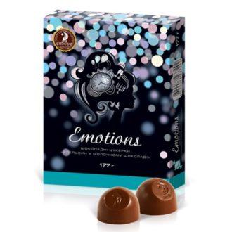 Шоколадные конфеты SHOUD'E Emotions Orange Апельсин в молочном шоколаде, Украина, 177 г