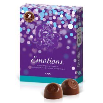 Шоколадные конфеты SHOUD'E Emotions Strawberry Клубника в черном шоколаде, Украина, 177 г