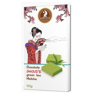 Шоколад SHOUD'E Matcha Зеленый чай Matcha, белый, Украина, 90 г