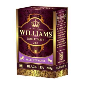 Чай Williams Noble Taste Pekoe Благородный вкус, цейлонский, 200 г