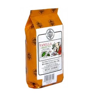 Чай Mlesna Vanilla Green Tea Ваниль, цейлонский, ароматизированный, 100 г