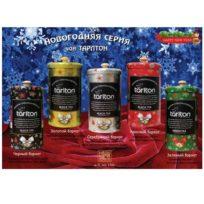 Чай Tarlton Premium Christmas Bland (Зимняя Коллекция), цейлонский, 5x150 г, 750 г