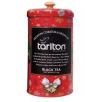 Чай Tarlton Strawberry FBOP, Premium Christmas Bland Клубника, Красный Бархат, цейлонский, 150 г