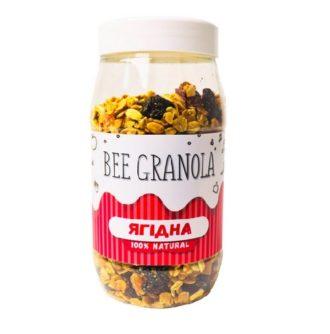 Bee Granola Гранола (Ягідна), пластівці, Украина, 250 г