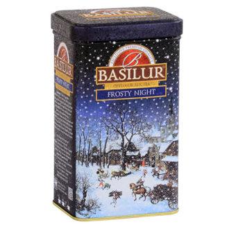 Чай Basilur Frosty Night Морозная ночь, цейлонский, 85 г