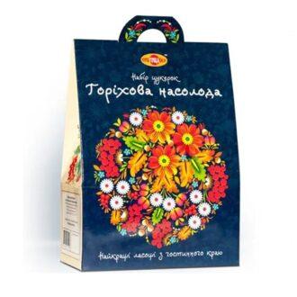 """Подарунковий набір цукерок """"Горіхова насолода"""", 500 г, Україна"""
