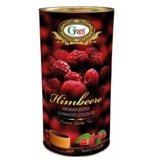 Чай Gred Raspberry (Himbeere Малина), цейлонский, 150 г