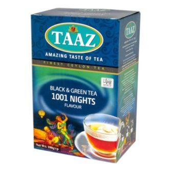 Чай TAAZ 1001 Nights 1001 ночь, цейлонский, 100 г