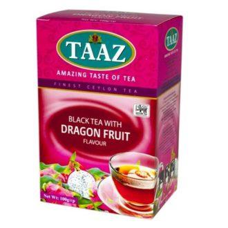 Чай TAAZ Dragon Fruit Аромат питахайя, цейлонский, 100 г
