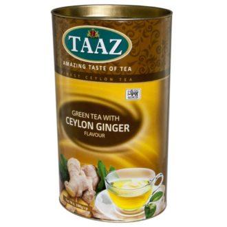 Чай TAAZ Ginger Green Имбирь, цейлонский, 100 г