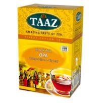 Чай TAAZ OPA Крупнолистовой ОПА, цейлонский, высшего сорта, 250 г