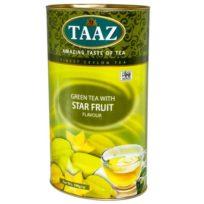 Чай TAAZ Star Fruit Green Карамболь, цейлонский, 100 г