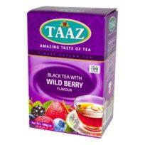 Чай TAAZ Wild berry Лесная Ягода, цейлонский, 100 г
