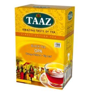 Чай TAAZ OPA Крупнолистовой ОПА, цейлонский, высшего сорта, 100 г