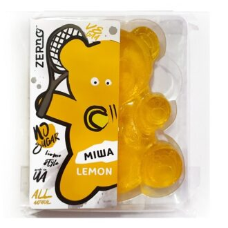Мармелад медовий Zerno Лимон, ведмедик Міша, 100 г