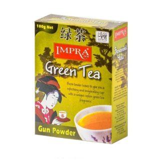Чай Impra Gun Powder Green Tea (Ганпаудер), цейлонский, 100 г