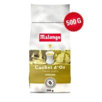 Кофе Malongo Cachet d'Or Grains Золотая печать, Индонезия, в зернах, 500 г