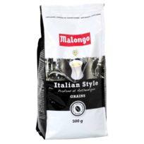 Кофе Malongo Italian Style Beans Итальянский вкус, Арабика, в зернах, 500 г