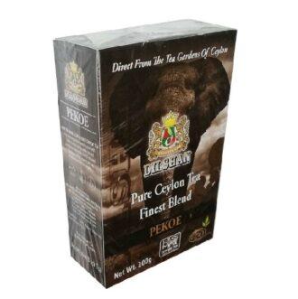 Чай Dilshan Pekoe Finest Blend Black Tea (Пекое), среднелистовой, цейлонский, 200 г