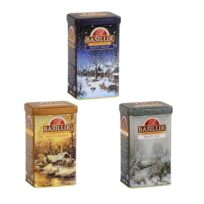 Чай Basilur Winter Fairy Tale (Зимняя сказка), цейлонский, 3 x 85 г, 255 г