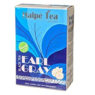 Чай Halpe Earl Grey (Бергамот), среднелистовой, цейлонский, 100 г