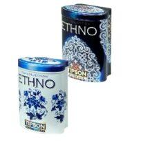 Чай Tipson коллекция Ethno (Голубые цветы, Зимнее кружево), цейлонский, 2x100 г, 200 г
