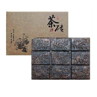 Чай Da Hong Pao Chocolate Brick (Да Хун Пао, шоколадка), черный, китайский, 100 г