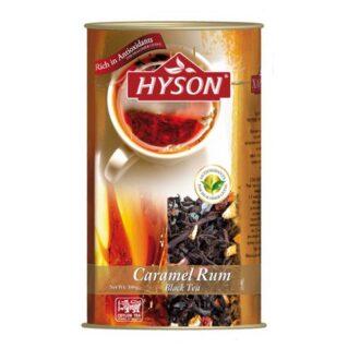 Чай Hyson Caramel Rum (Карамель Ром), цейлонский, 100 г