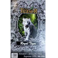 Чай Teasor Royal Tiger Suprime OPA (Королевский тигр), цейлонский, 250 г