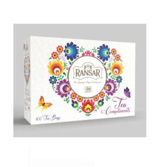Чай Ransar Tea Compliments (Десять вкусов), цейлонский, 10х10х2 г, 200 г