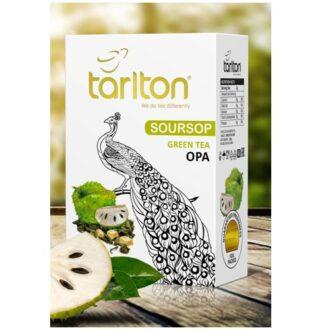 Чай Tarlton SourSop Green Tea (Саусеп Великолепный Павлин), цейлонский, 250 г
