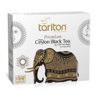Чай Tarlton Premium Ceylon Black Tea (Золотий слон), цейлонский, 100x2 г, 200 г